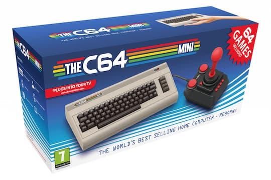 Commodore C64 kommt wieder: Mini-Neuauflage geplant ...
