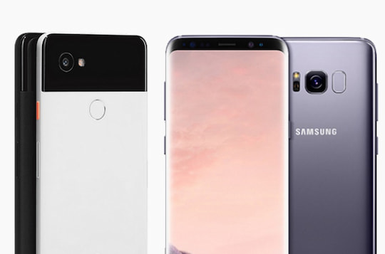 Galaxy S8 Sim Karte.Im Vergleich Google Pixel 2 Xl Vs Samsung Galaxy S8 Plus