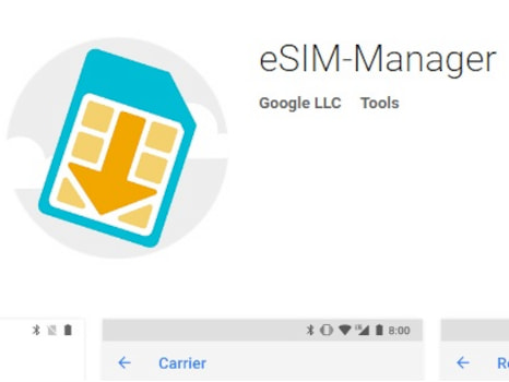 eSIM-Manager: Verwaltungstool von Pixel 2 (XL) landet in