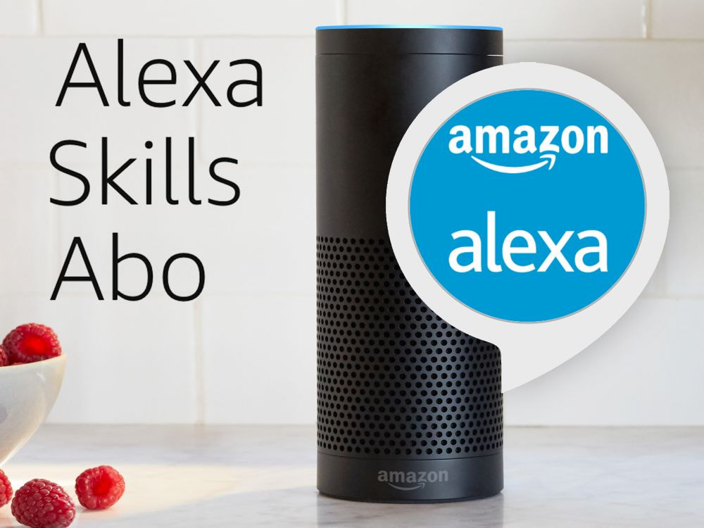 amazon testet alexa skills als abo news. Black Bedroom Furniture Sets. Home Design Ideas