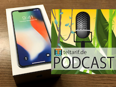 iPhone X: Das Apple-Flaggschiff im teltarif.de-Podcast.