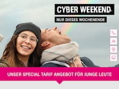Cyber-Weekend-Aktion bei der Telekom