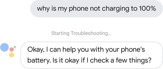 Google Assistant Tech-Support