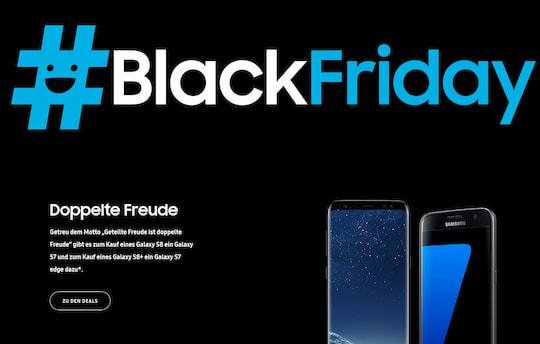 Samsung feiert Black friday