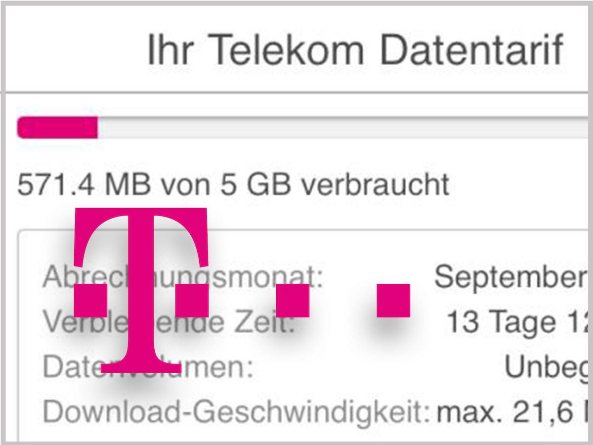 telekom verbrauch anzeigen