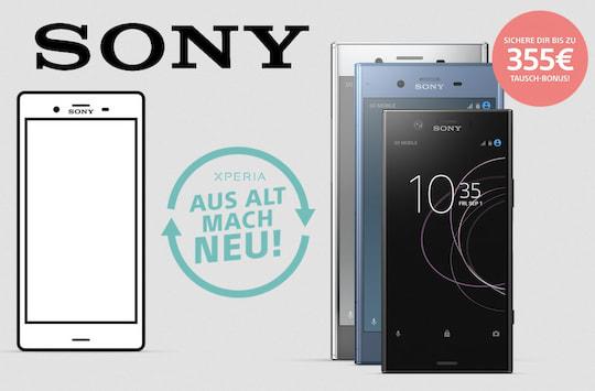 Sony Geld Für Altgerät Bei Kauf Eines Neuen Top Smartphones