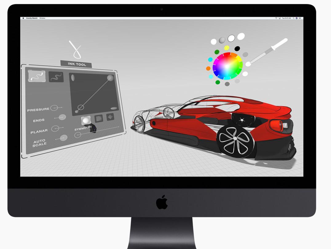 apple imac pro profi all in one rechner landet im handel. Black Bedroom Furniture Sets. Home Design Ideas