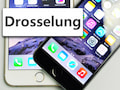 Apple-Statement zur iPhone-Drosselung