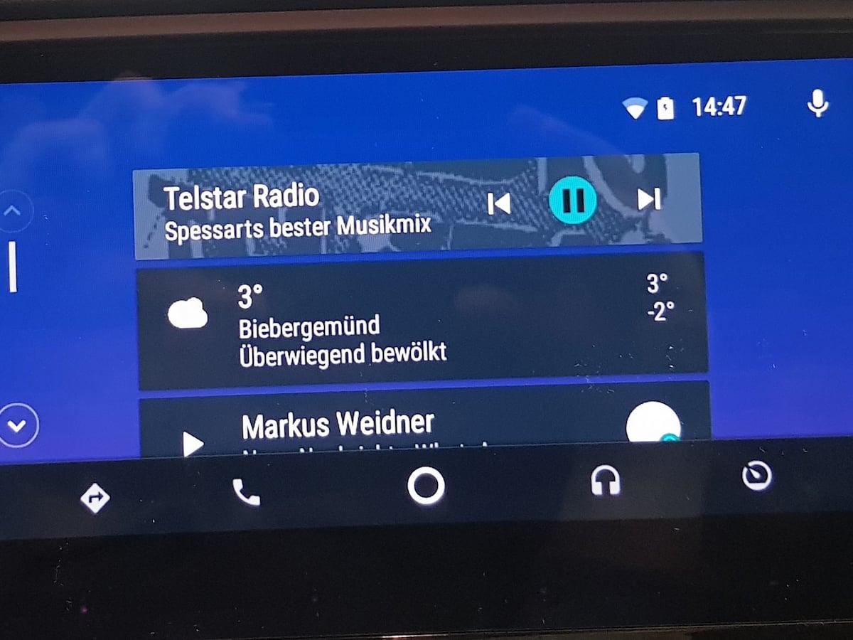 android auto telefon navi messaging und multimedia news. Black Bedroom Furniture Sets. Home Design Ideas