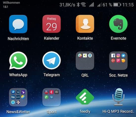 Android 8 apps werden im hintergrund ausgefuhrt