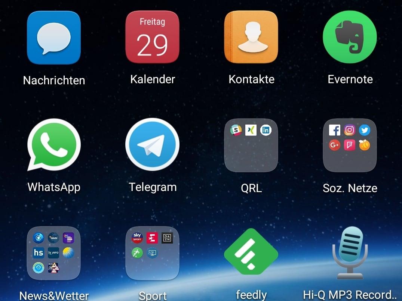 Oreo apps werden im hintergrund ausgefuhrt