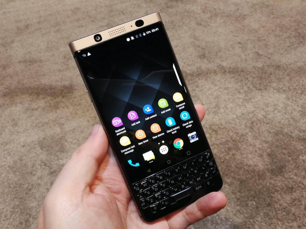 Hands On Blackberry Keyone Mit Tastatur Und Dual Sim News