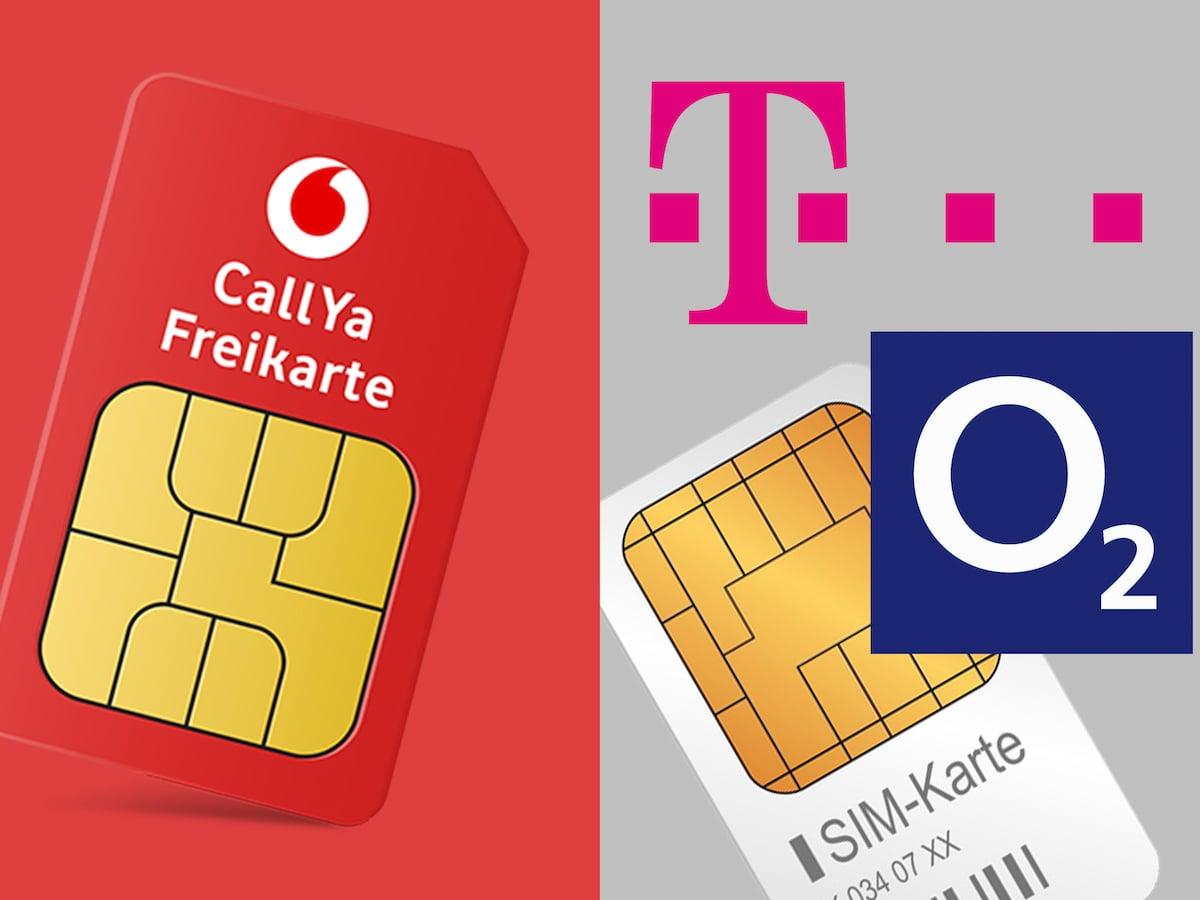 Vodafone Neue Sim Karte Kosten.Neue Callya Tarife Im Vergleich Mit Telekom Und O2