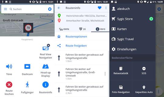 Sygic GPS Navigation: Google-Maps-Konkurrent im Kurztest ...