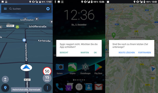 Sygic GPS Navigation: Google-Maps-Konkurrent im Kurztest - teltarif ...