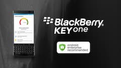 "Das BlackBerry KeyOne ist ""Android Enterprise Recommended"""
