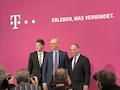 Impressionen von der Bilanz-Pressekonferenz der Telekom