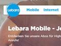 Neue Postpaid-Tarife bei Lebara Schweiz
