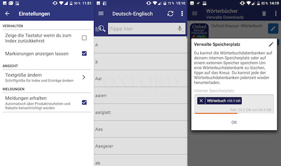 App Test Was Taugt Das Oxford Englisch Klausur Wörterbuch