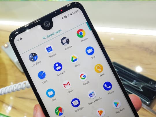 Wiko View 2 mit Display-Notch