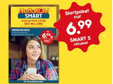 netto sim karte NettoKOM erhöht Datenvolumen in Smart Tarifen   teltarif.de News