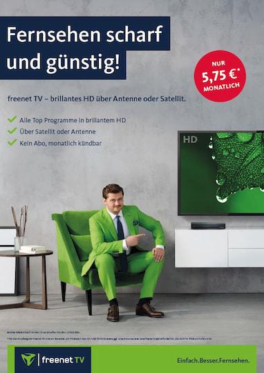freenet tv startet angebot ber satellit zum gleichen. Black Bedroom Furniture Sets. Home Design Ideas