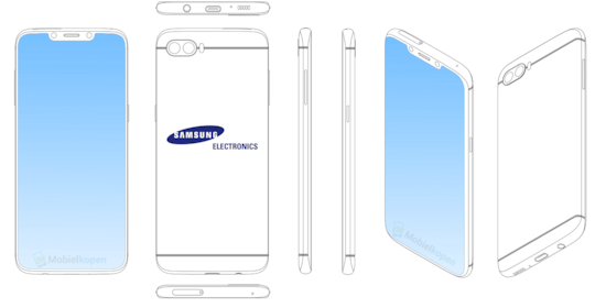 Samsung-Patent mit Notch im Display