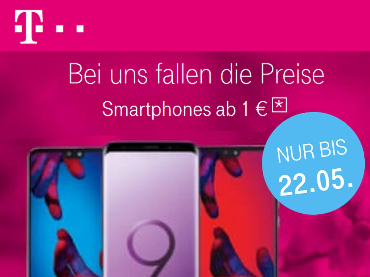 telekom smartphone mit vertrag zum aktionspreis news. Black Bedroom Furniture Sets. Home Design Ideas