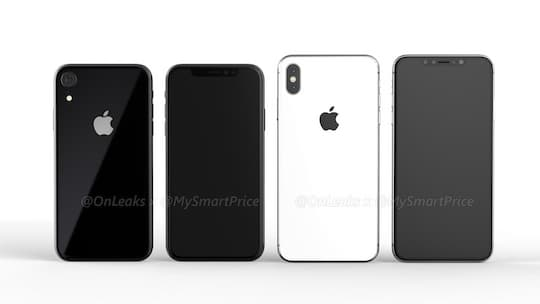 Links iPhone SE 2, rechts iPhone Xs Plus