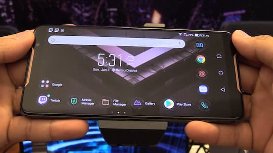 Mobile-Gaming in Reinform: Asus ROG Phone