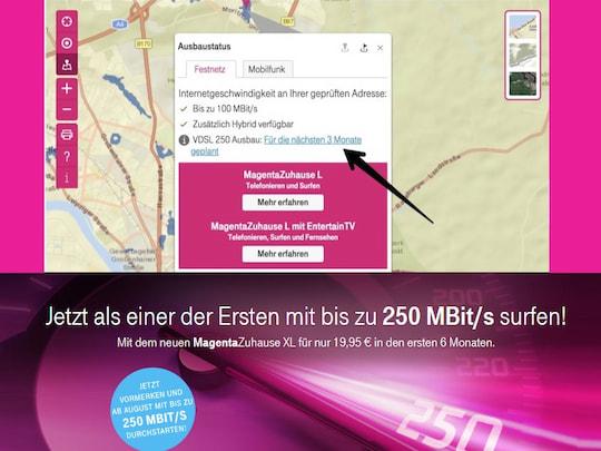 Telekom Glasfaserausbau Karte.Super Vectoring Ausbau Pläne Der Telekom Abfragbar Teltarif De News