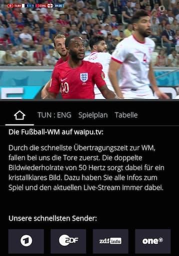Fußball-WM: Bei ARD & waipu fallen Tore besonders schnell