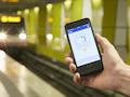 Der Lohn des Aufwandes: Schnelle Verbindungen (hier LTE mit 54 MBits/) auch in der U-Bahn