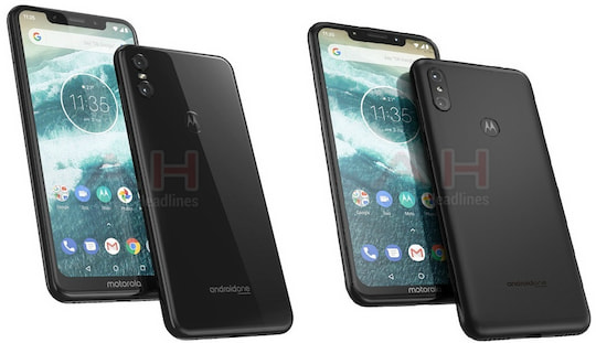 Links Motorola One, rechts Motorola One Power