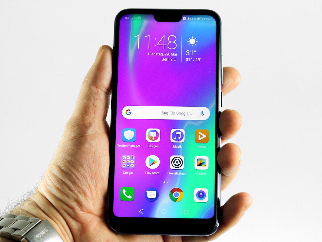 Honor 10: Highend-Mittelklasse-Smartphone im Test ...