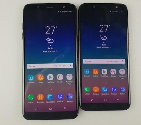 Samsung Galaxy A6 Und A6 Im Test Teltarif De News