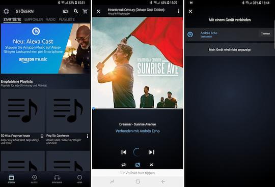 f43a58b7a15a77 Alexa Cast: Musik von Amazon Music auf Echo streamen - teltarif.de News