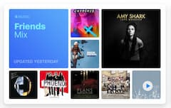 "Apple Music hat eine neue Wiedergabeliste namens ""Friends Mix"""