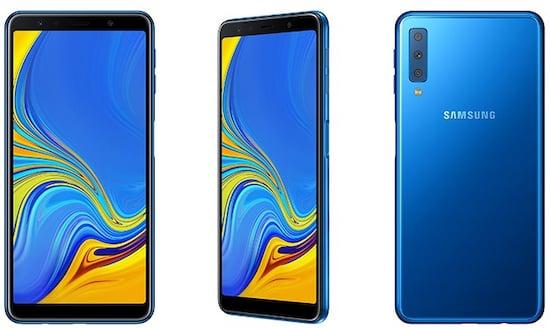Samsungs Erstes Triple Kamera Handy Galaxy A7 2018 Teltarif De News
