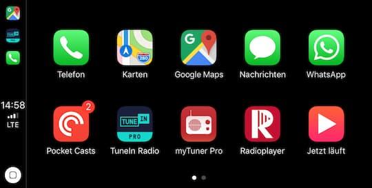 Ausprobiert Google Maps Mit Apple Carplay Unter Ios 12 Teltarif