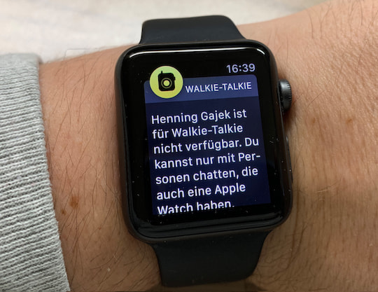 test so wird die apple watch zum walkie talkie teltarif. Black Bedroom Furniture Sets. Home Design Ideas