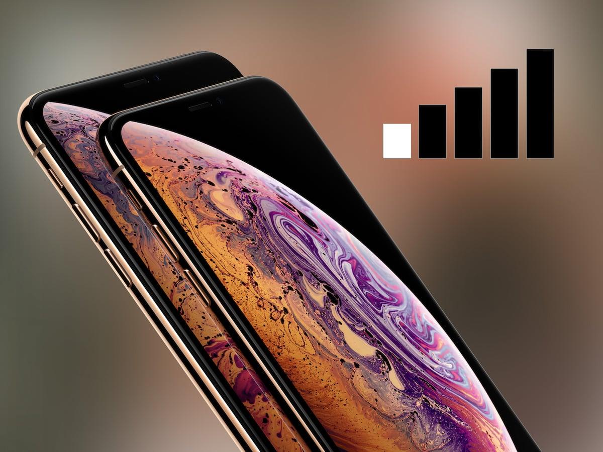 bericht apple untersucht lte probleme mit iphone xs max. Black Bedroom Furniture Sets. Home Design Ideas