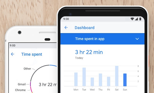 Digital Wellbeing von Google Android 9.0 Pie