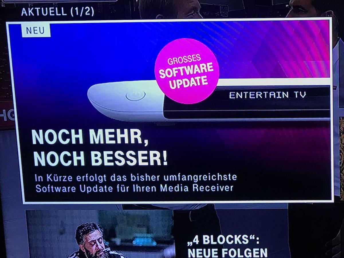 Großes Update Telekom Plant änderungen Bei Entertain Tv Teltarif
