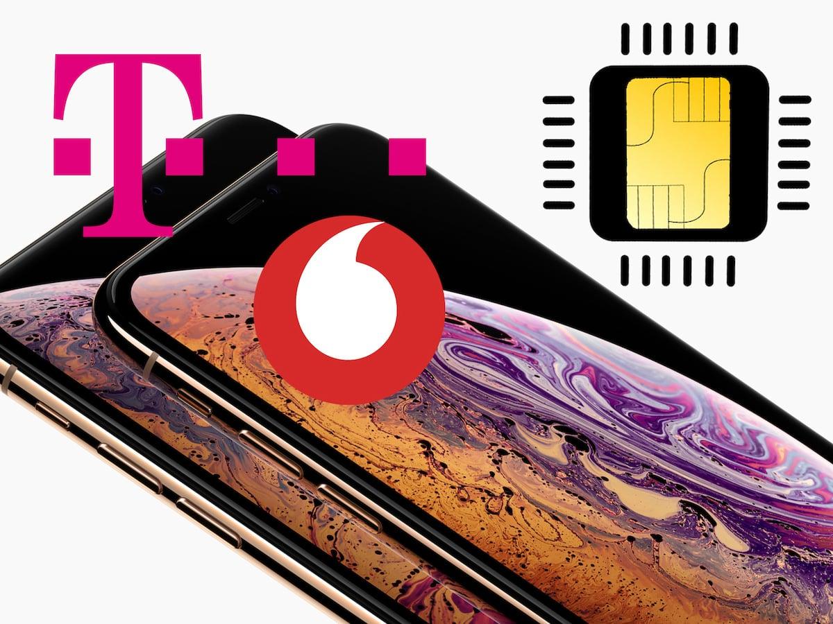 Ab Sofort Esim Von Telekom Und Vodafone Fürs Iphone Teltarifde News