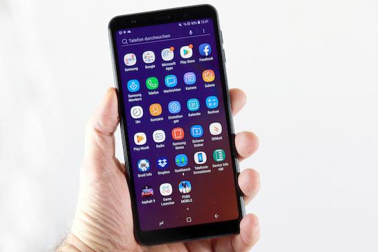 Samsung Galaxy A7 Im Test Mittelklasse Mit Oberklasse Flair