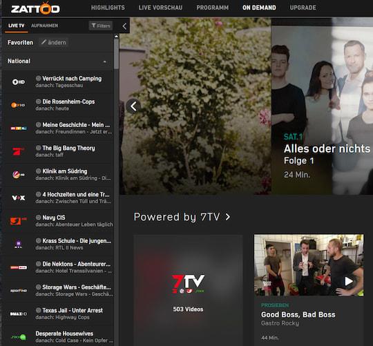 Zattoo Tv Streaming