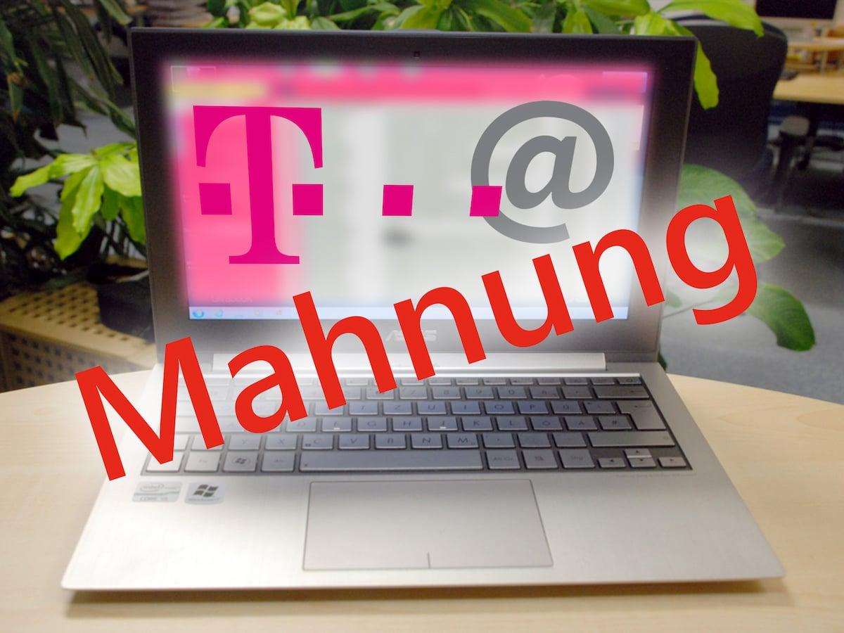 Telekom Verschickt Mahnungen Ab Sofort Per E Mail Teltarifde News