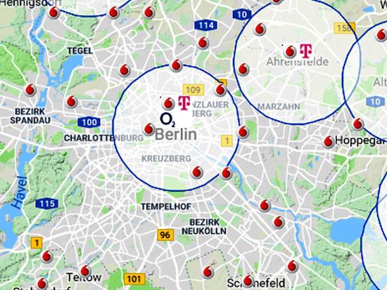 Vorwahlen Deutschland Karte.Netzabdeckung Karten Und Realität Im Vergleich Teltarif De News