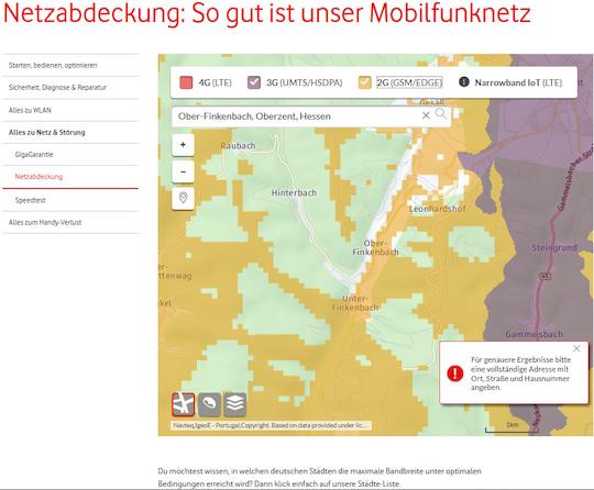 Lte Netzabdeckung Karte.Netzabdeckung Karten Und Realitat Im Vergleich Teltarif